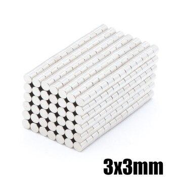 500pcs 3x3 mm mini super rare earth disk neodymium magnet 3 * 3mm process round magnet NdFeB magnet magnetic magnet фото