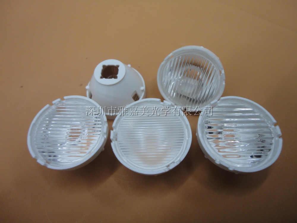 עם מעמד CREE LED עדשת קוטר 21mm פסים 10*30 45 65 70 מעלות ו 20*65 מעלות, XM-L2 XML XPH50 עדשה, 5050 עדשה
