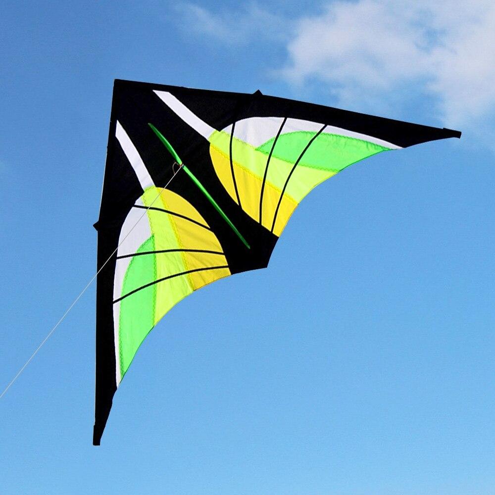 Cerf-volant volant en forme de Delta énorme coloré avec ligne volante de 30 m jardin de plage en plein air pour enfants adultes - 6