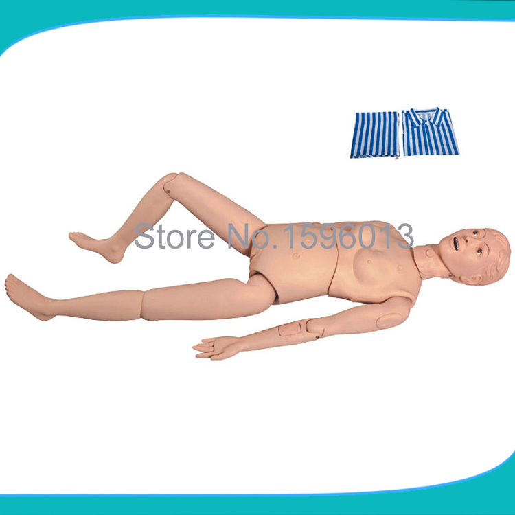 Basic Female Nursing Manikin, Patient Care Training dummy economic basic patient care manikin female nursing manikin nursing mannequin