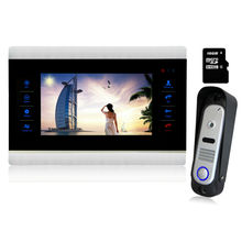Homefong 10″ Video Intercom Door Phone home Intercom 1200TVL front door monitor System Inter-conversation Doorbell 1 to 1
