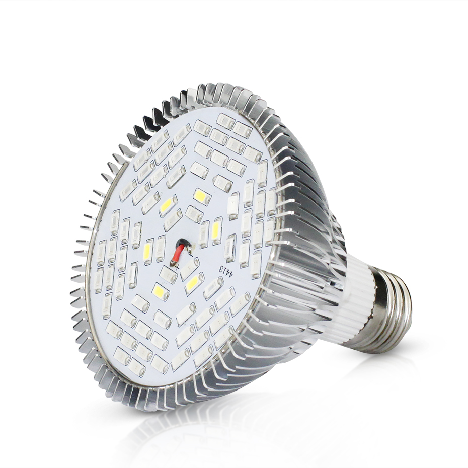 E27 Indoor Phyto Lamps For Plants Full Spectrum Plant Grow Lamp For Flowers 30W/50W/80W Plant Bulbs Fitolampa For Seedlings