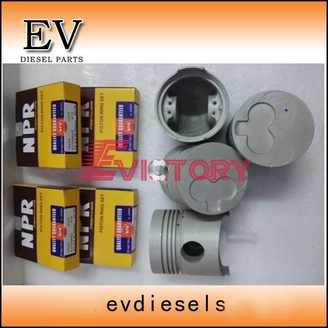 Cylinder Liner kit For Isuzu diesel engine C240 piston piston ring