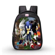 de de dibujos la Sonic niños los impresión de animados escuela Mochila bolsas de De ortopédicos w4nxvzqg