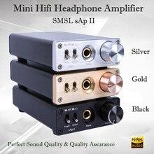 SMSL sAp II hifi усилитель для наушников аудио TPA6120A2 портативный усилитель для наушников стерео усилитель для наушников с 2 способами переключения входов