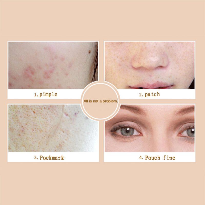 Women Face Primer Concealer Cream Foundation Base Makeup Base Hide Blemish Dark Circle Face Eye Foundation
