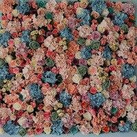 3.3ft x 3.3ft Luxury Wedding Flower Wall Flower backdrop Good quality Rose & Hydrangeas Backdrop for wedding flower background