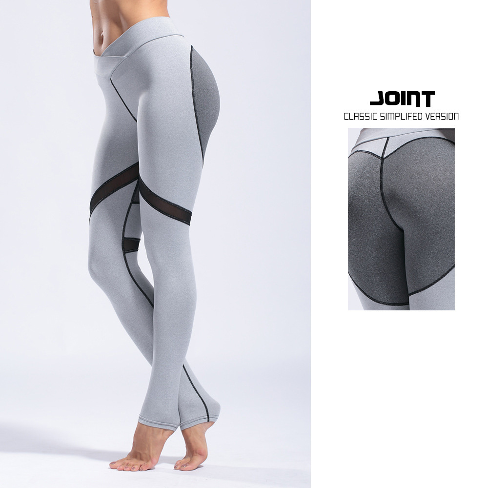 Heart Printed Ropa Deportiva Mujer Gym Leggins Mesh Sport Women Fitness Pantalones Yoga Excercise Sport Tights Women YP025