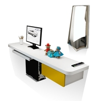Bedroom Double Computer Desktop Dresser Corner Wall Small Unit Multi Function Study Desk