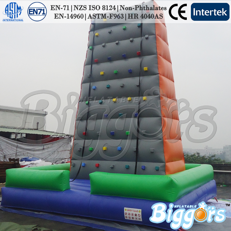 Hot sale factory direct inflatable climbing wall outdoor sport games for kids funny summer inflatable water games inflatable bounce water slide with stairs and blowers