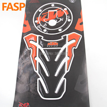 FASP Motorcycle Emblem Protection Tank Pad Protective Decal Sticker For 2011 2016 KTM Duke 125 200