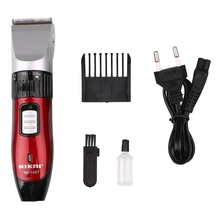 2016 New Aarrival Electric Shaver Men Machine Clipper Barber Rechargeable European Specification