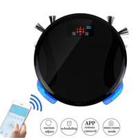 New Advanced WiFi APP Remote Control Wet And Dry Mop Robot Vacuum Cleaner For Home With