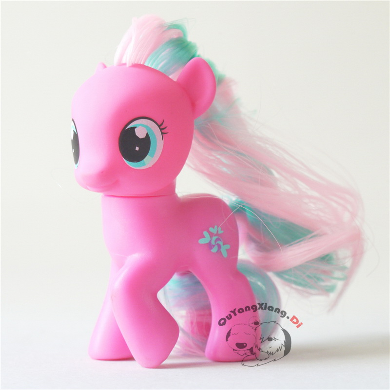 P6-01 Action Figures 6.5cm Little Cute Horse Model Doll Crusaders Twirly Treats Anime Toys for Children(China)