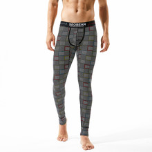 New SEOBEAN 2017 Winter Warm Men Long Johns Cotton Thermal Underwear Thermo Underpants