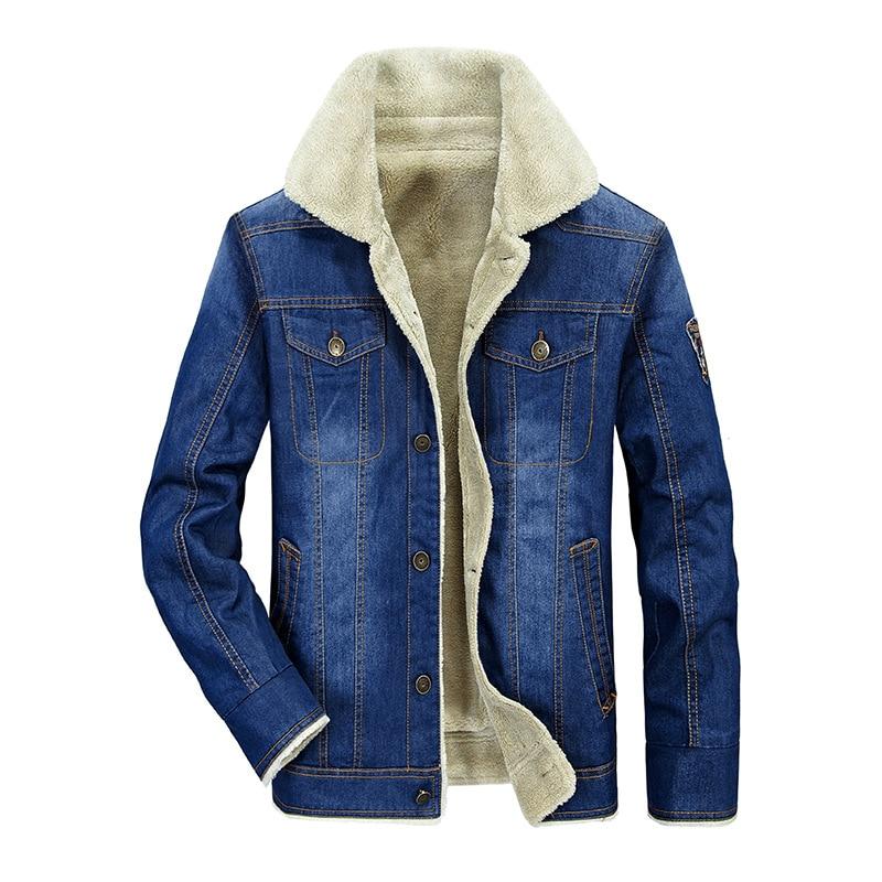 Rétro Picture Hommes Masculina Polaire Veste yeson Taille Mode Marque Velours Bleu As In 4xl Nouvelle Épais Jeans Denim Jaqueta Grande dhtsrCxQ
