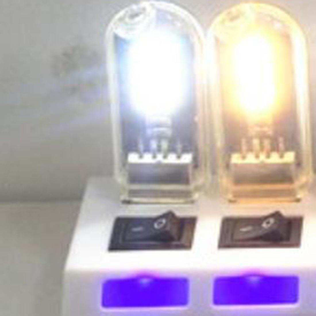 1pcs USB Night Lights Mini Lamp Computer Desk Bulbs