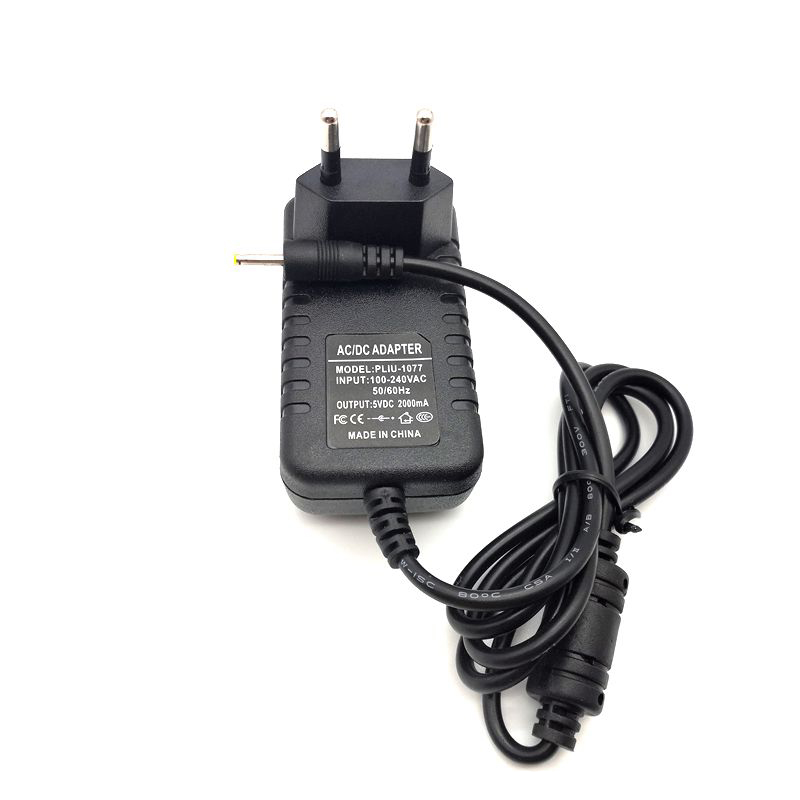 5V 2A 2.5mm tablet battery charger for iWork8 3G Q8 Q88 Ainol dream discover Venus Vido N90 Quad Core N70 N70HD V88 M5