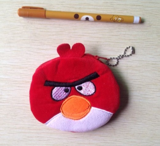 30PCS Cartoon Birds Plush Coin Purse & Wallet Pouch Bag Case BAG Pendant Chain Purse Bag Case Pouch BAG Wallet Handbag Case