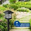 2 4 6 8pcs led Solar Pathway Lights Waterproof Outdoor Solar Lights for Garden Landscape Path Yard Patio Driveway Walkway discount