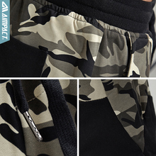 Aimpact 2018 New Camouflage Jogger Pants Men Fitted Active Cotton Sweatpants Male Track Pants Patchwork Casual Pants Man AM5006