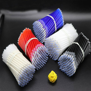 Image 1 - 100pcs High Temperature Vanishing Refill Fabric+PU Cloth Factory Professional Ironing Heating Disappear Refill Office Stationery