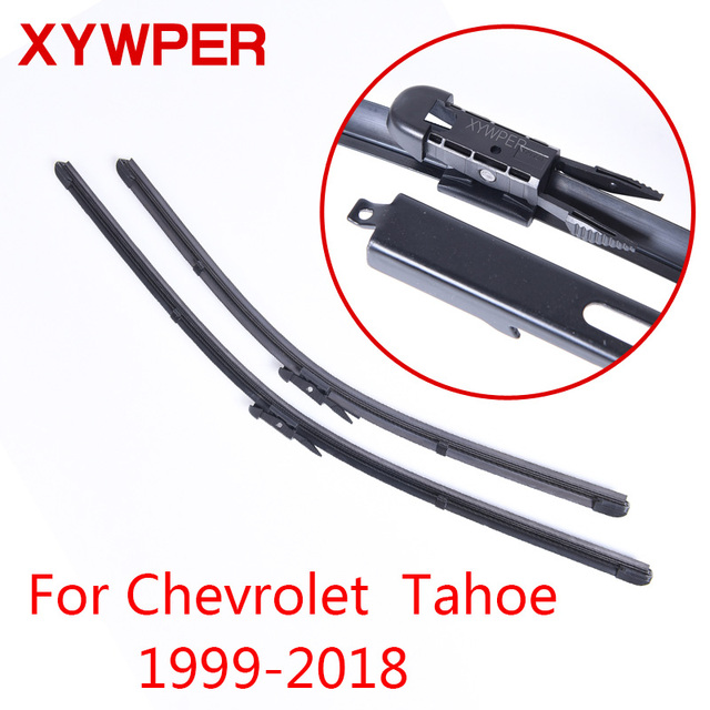 Xywper Wiper Blades For Chevrolet Tahoe 1999 2000 2001 2002 2003 2018 Car Accessories Soft Rubber Windshield Wipers