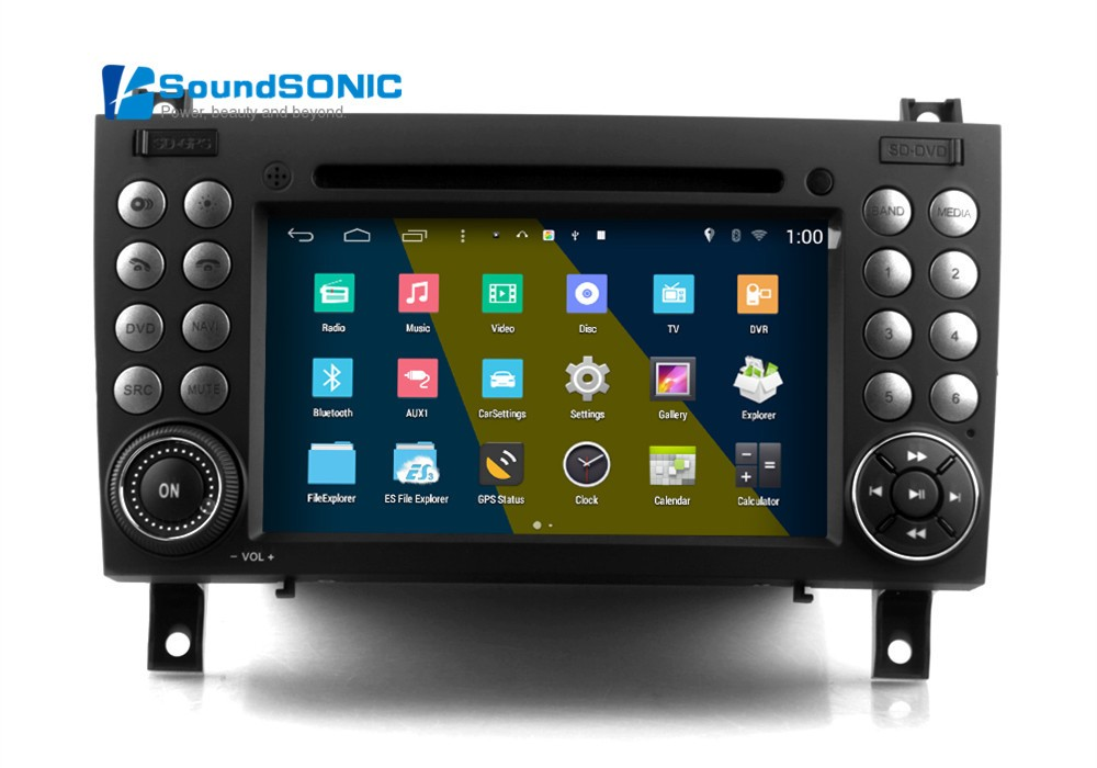 Android 4 4 car multimedia for mercedes benz slk w171 r171 for Mercedes benz navigation system