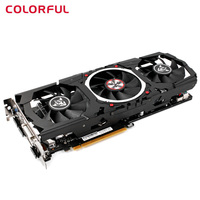 Original Colorful iGame1060 X 6GD5 Top Gaming Graphic Card GeForce 192bit GDDR5 1506MHz Computer Hardware with Cooler Fan