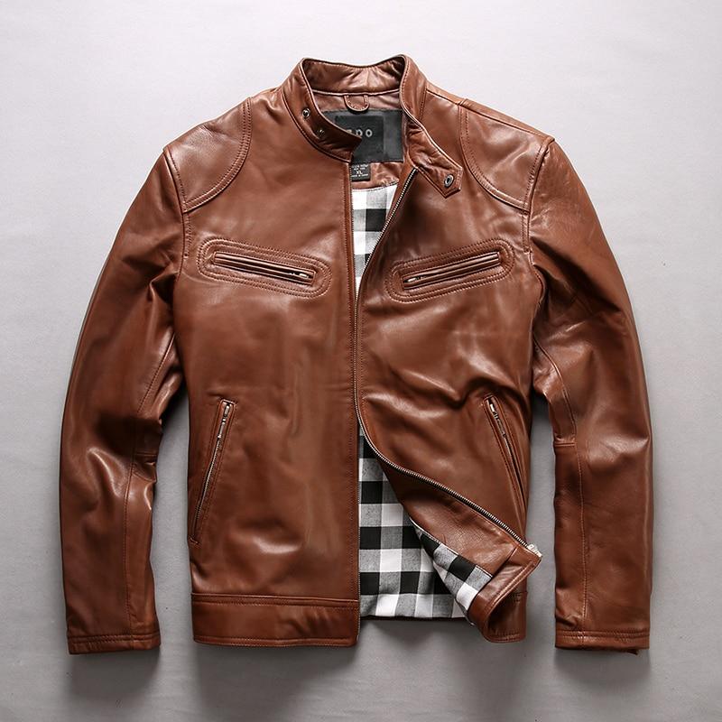 varm försäljning ko läderkläder man över storlek äkta kohid - Herrkläder - Foto 2