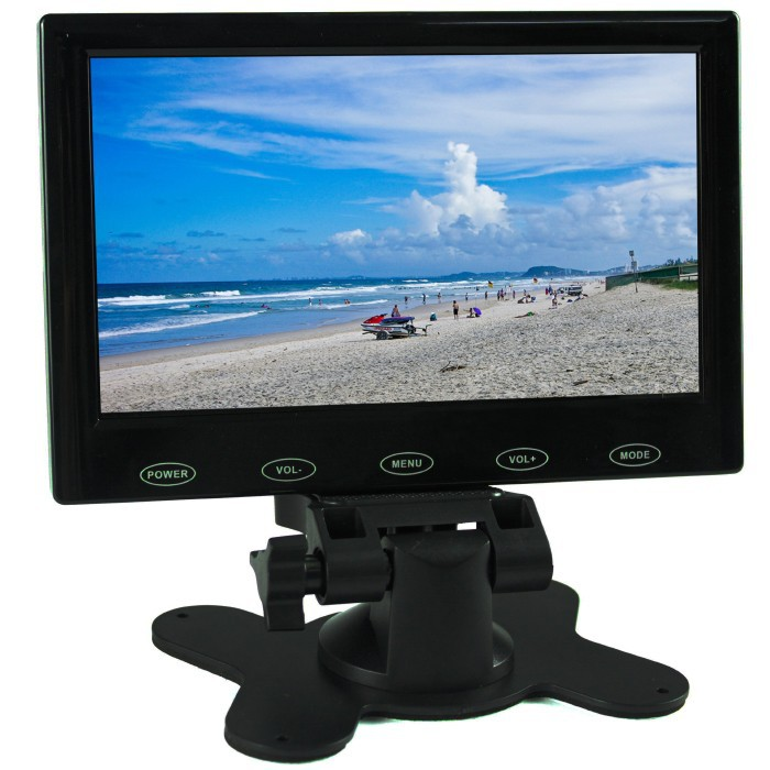цены 7 inch TFT LCD Monitor for Car Security Camera or Rearview Camera