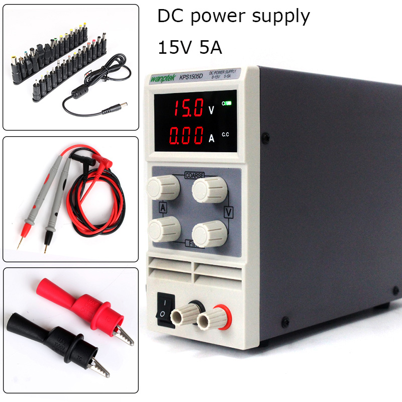 Здесь продается  Digital Display adjustable Mini DC Power Supply Voltage Regulators 15V 5A Switch laboratory power supply 0.1V 0.01A +Adapter  Электротехническое оборудование и материалы