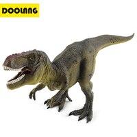 DOOLNNG Jurassic World Park 3D Dinosaur Model Plastic Toy Tyrannosaurus Rex Action Figure Toys Kids Cool Birthday Gift DL K002