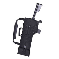 29 Inch Tactical MOLLE Rifle Gun Scabbard Pouch With Padded Shoulder Strap Airsoft Combat Hunting Shotgun