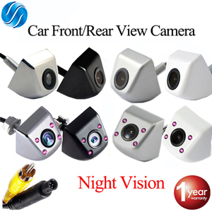 SINOVCLE Car Rear View Camera Reverse & Front & Infrared Camera Night Vision 170 Degree Waterproof CCD HD Video