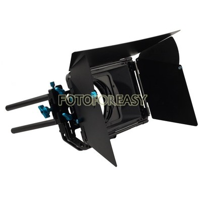 FOTGA DP3000 Professional Swing-away Matte Box Sunshade for 15mm Rod DSLR Rig