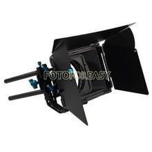 FOTGA DP3000 Профессиональный откидной Матовая коробка Зонт для 15 мм Rod DSLR Rig M3