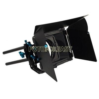 Prix pour Fotga DP3000 professionnel escamotable Matte Box pare - soleil pour 15 mm tige DSLR Rig M3