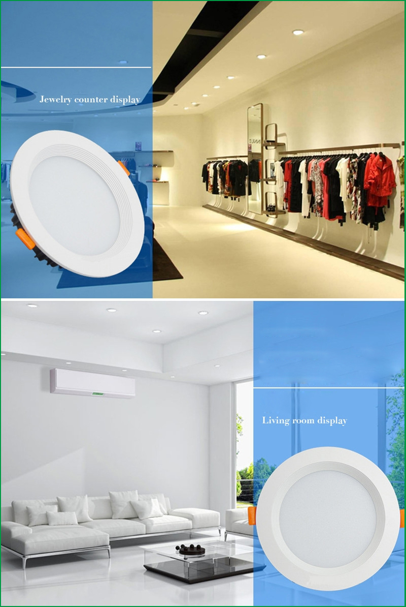 Downlights pode ser escurecido led downlight Garantia : 2years