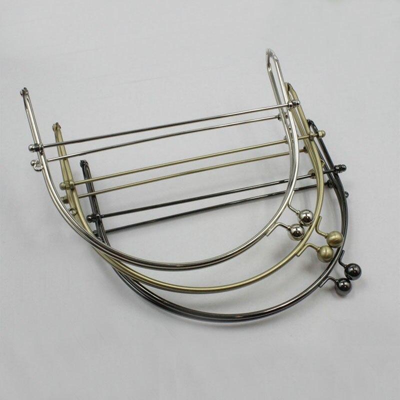 10cm ( 4 Inch) half round metal purse frame