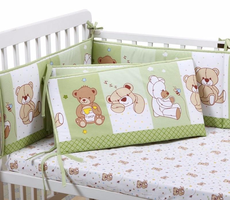Animal Print Katoen Verdikking Zachte Babybedje bumpers Ademend voor - Beddegoed - Foto 6