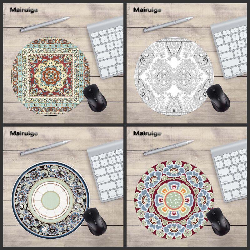 Mairuige высокое качество узор персидские ковры коврик для мыши ноутбука 200x200 мм Размеры pc игры дома DIY подарок геймер Скорость версия коврики