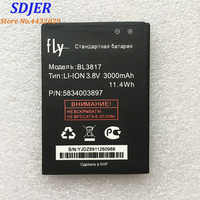 High Quality For FLY BL3817 New Mobile Phone Lithium Original 3000mAh Battery Replacement Parts