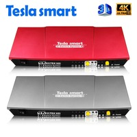 Tesla Smart Aluminum High Quality UHD 4K 2 In 4 Out HDMI Switch Splitter 2x4 With