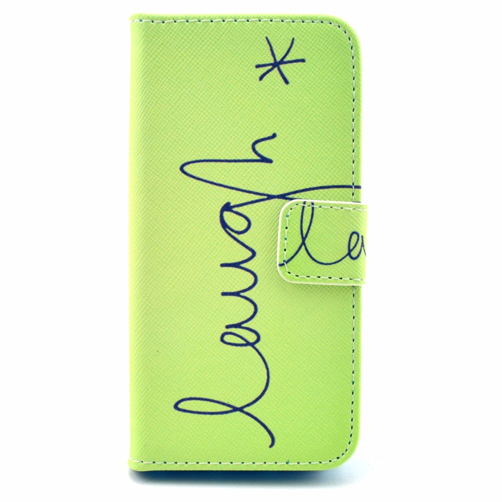 Christmas ornament display case - Green Word Pattern Faux Leather Flip Case With Mount Stand Credit Card Slots For Iphone 5s 5 Se