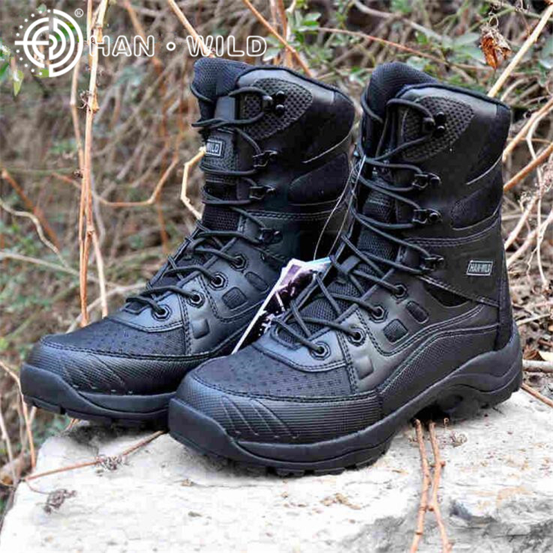 New Ultralight Jungle Shoes Men Professional Army Boots Safety Military Shoes Man Army Desert Boots Trainers Shoes Outdoor Boots original li ning men professional basketball shoes