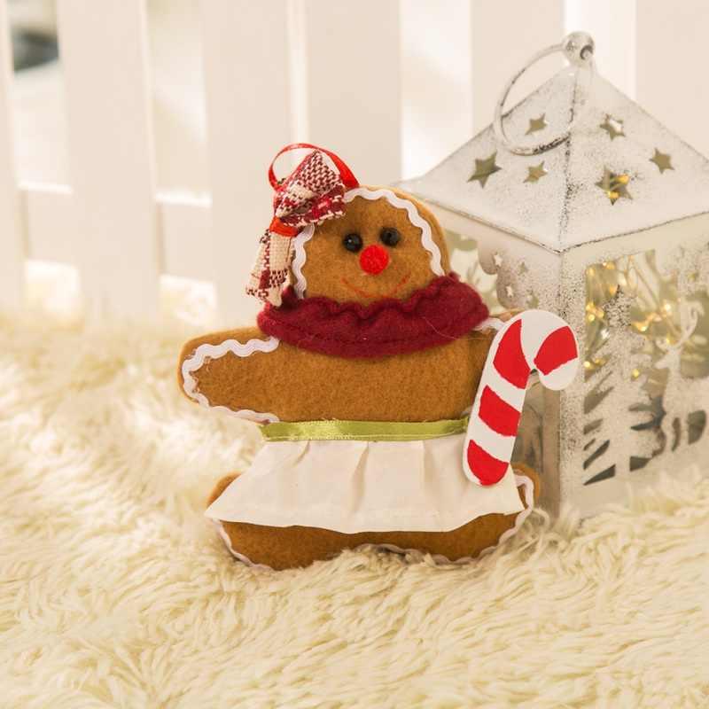 Chic Christmas Gingerbread Man Headband Ornaments Christmas Tree Ornaments Funny Festival Style