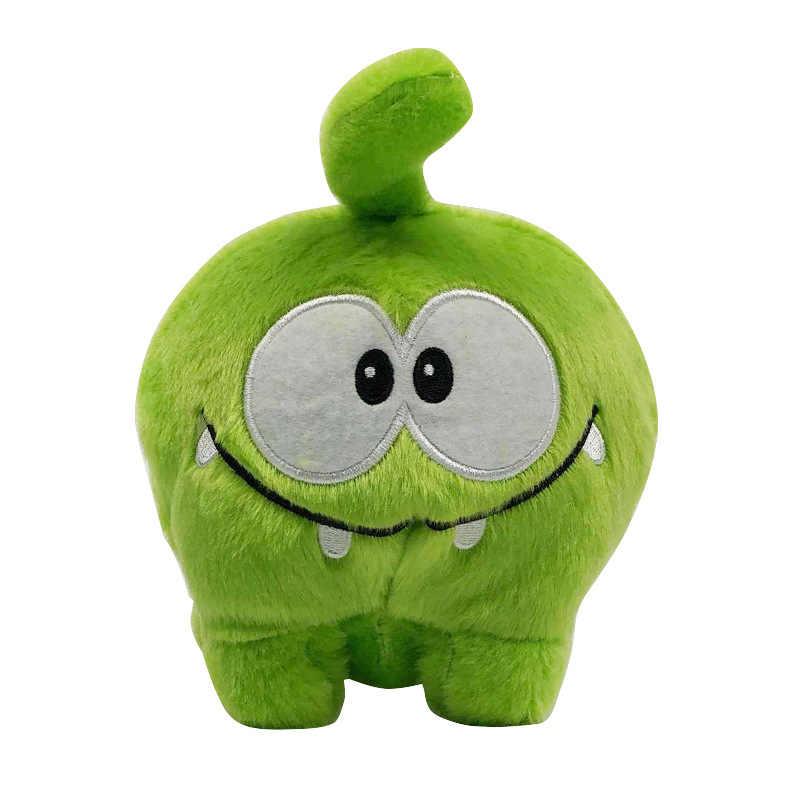Cut The Rope Om Nom pluszowe lalki 20 cm Cartoon zielona żaba cukierki potwór miękkie pluszaki lalki dla dzieci dla dzieci prezent urodzinowy