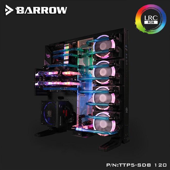 Курган акриловая доска водный канал решение комплект использовать для TT Core P5 чехол/комплект для Процессор и блок GPU/вместо резервуар