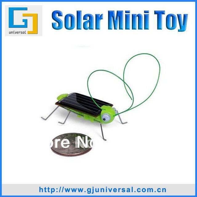 Mini Solar Grasshopper Toy(20PCS/Lot),Solar Powered  Grasshopper Bug,Energy Conservation and Environmental Solar Grasshopper
